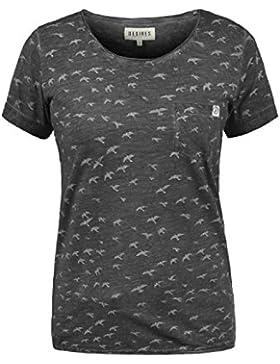 Desires Bird Camiseta De Manga Corta Estampada con Cuello Redondo con Gráfico De 100% Algodón