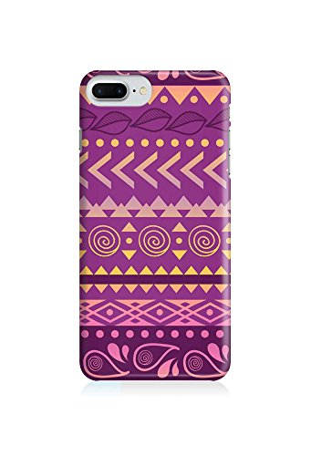 COVER AZTEC Gipsy Hippie Muster lila Handy Hülle Case 3D-Druck Top-Qualität kratzfest Apple iPhone 7