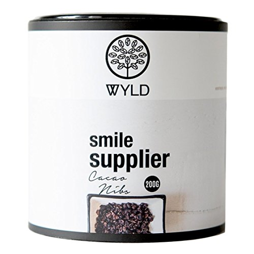 WYLD Bio Cacao Nibs, 1er Pack (1 x 200g)