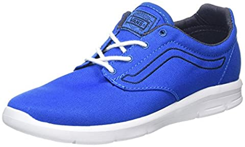 Vans Uy Iso 1.5, Mary janes Fille - Multicolore (Canvas Imperial Blue/Parisian Night), 32 EU