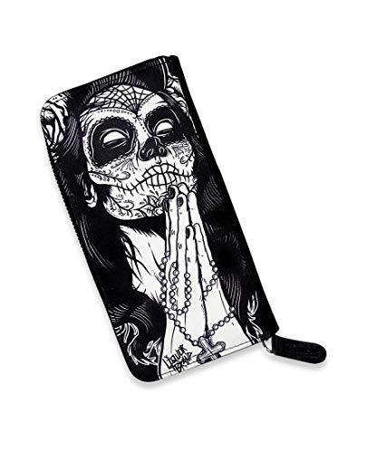 Liquor Brand - Damen Geldbörse Portemonnaie Tattoo Style - Gypsy Del Muerte