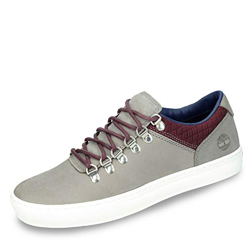 Timberland TB0A1SHUF491 Adventure 2.0 Alpine Oxford Herren Sneaker Premiumleder, Groesse 43, grau