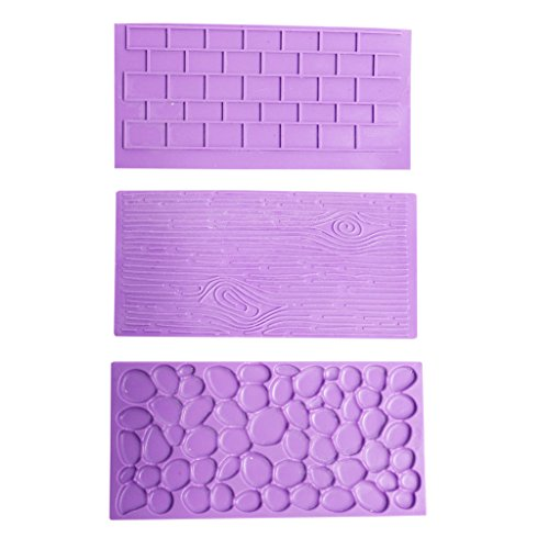 3-pc-set-of-silicone-embossed-printing-moulds-by-kurtzy-textured-wood-brick-wall-cobblestone-effects