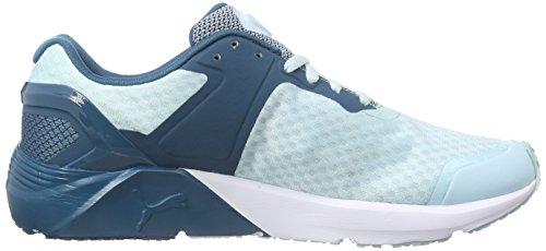 Puma Pulse PWR XT Sport  Damen Hallenschuhe Blau (clearwater-blue coral 01)