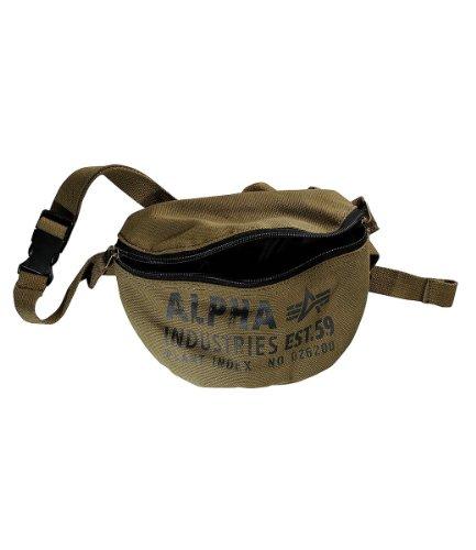Alpha Industries Bauchtasche Cargo Canvas Waist Bag Olive