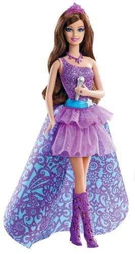 Mattel Barbie der Popstar 'Keira' Die Barbie zum Film (Popstar Kostüm Barbie)