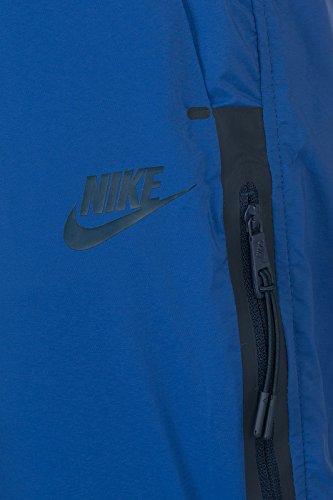 Nike Bonded Woven Pant Pantalon femme Azul / Negro (DEEP ROYAL BLUE/DEEP ROYAL BLUE/OBSIDIAN)