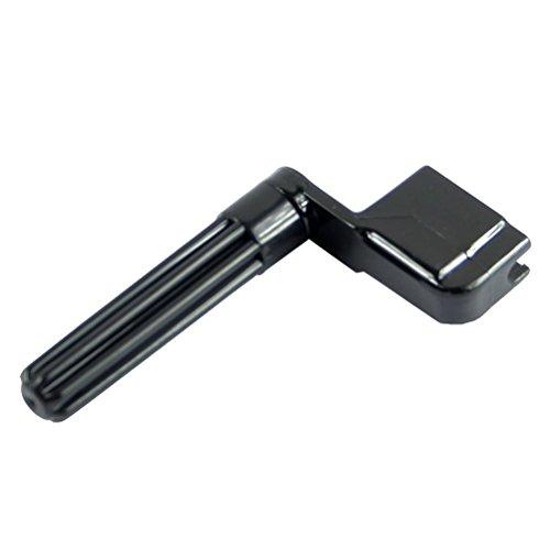 nalmatoionme Gitarre Saitenkurbel Peg Bridge Pin Werkzeug Gitarre Zubehör (schwarz)