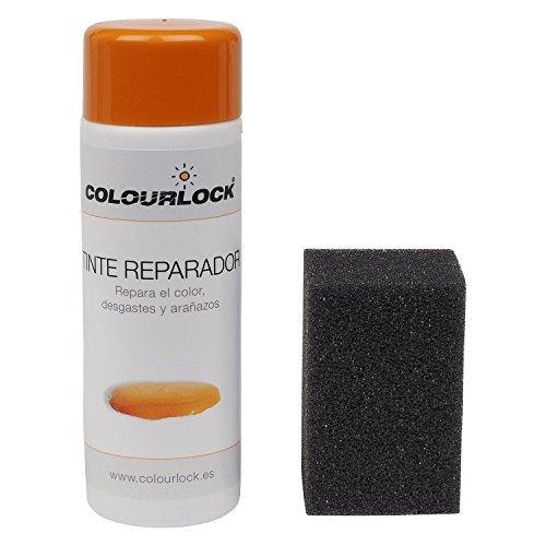 Tinte reparador cuero/piel F034 (NEGRO), 150 ml Colourlock® restaura el color del cuero en coches, sofás, ropa, bolsos