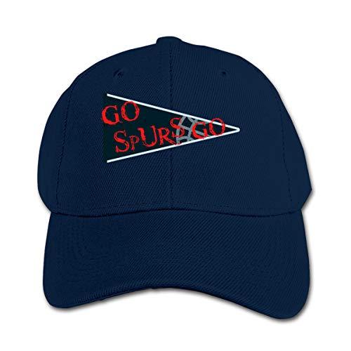 Xtb221 Go Spurs Go Fire Slogan Childrens Kids Baseball Cap Boys Girls Childrens Hats