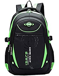 Eshops School Backpacks For Boys Bookbag For Kids Student Backpack (Green-1) afe84307da2f6
