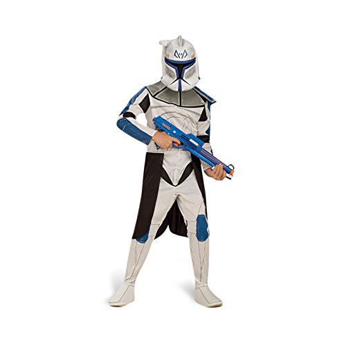 Kinderkostüm Captain Rex Clone Wars Kinder Kostüm Clone Trooper Clonetrooper Starwars Star Wars M 5-6 Jahre (Captain Rex Kinder Kostüm)
