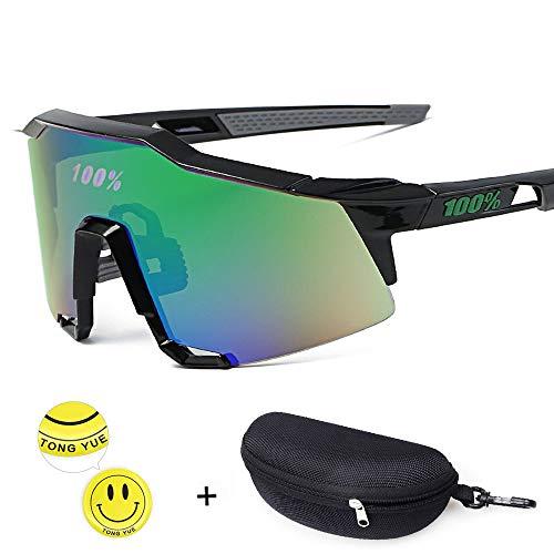 Tong Yue Unisex Sonnenbrille Radfahren Outdoor Eyewear für Männer Frauen, C2