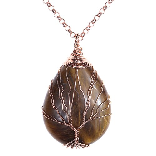 jsdde-antique-brass-bronze-wire-wrapped-tree-of-life-natural-gemstone-healing-crystal-waterdrop-pend
