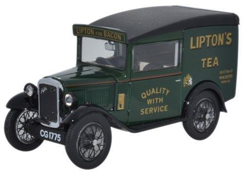 oxford-diecast-1-43-scale-asv003-austin-seven-rn-van-liptons-tea
