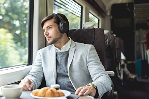 Sony WH-1000XM3 Bluetooth Noise Cancelling Kopfhörer (30h Akkulaufzeit, Touch Sensor, Headphones Connect App, Schnellladefunktion) schwarz - 12