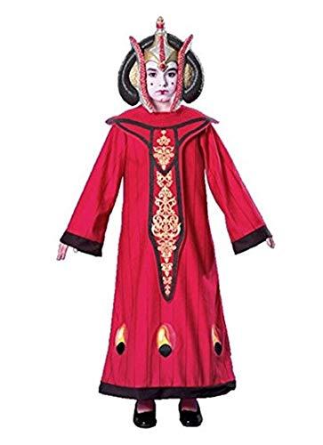 Star Wars Deluxe Damen Kostüm Königin Amidala - Größe L (Star Wars Amidala Kostüm)