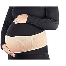 Tirain Fajas de Embarazo Premamá Transpirable Cómodo Cinturón del Vientre de Soporte Pélvico para Evitar Dolor Espalda