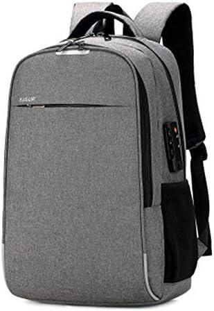 c7310e00bf FLYJJ Borsa Sportiva da Esterno Zaino Studente Studente Studente Porta di  Ricarica USB Tela Riflettente Design Adatto per Viaggi di Affari Grigio  Neutro | A ...