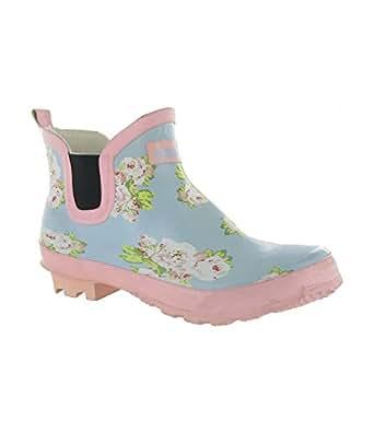 Cotswold Women's Meadow Dealer Ankle Wellington Boots Blue UK Size 8