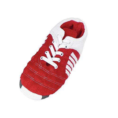Footies ,  Unisex Kinder Hohe Hausschuhe Rot