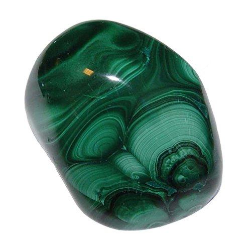 Malachit Handschmeichler ca. 12 - 18 Gramm SUPER A*Qualität schöne Farbe und Maserung.(4627)
