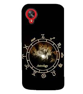 PRINTSWAG ASTROLOGY Designer Back Cover Case for LG GOOGLE NEXUS 5