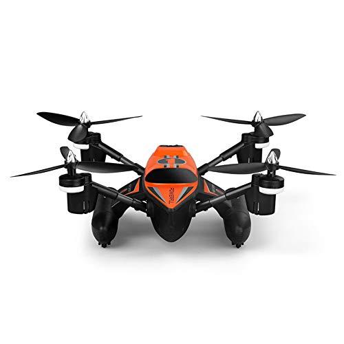 WQGNMJZ Entfernte Drohne Q353 Meer, Land Und Luft Amphibier Raumsonde Gleit Flugzeug Quadcopter Flugzeugmodell Spielzeug,Orange