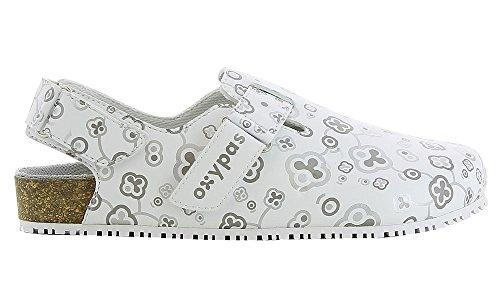 oxypas biancas4001wht Bianca SRC Bio Arbeiten Schuh mit Gurt