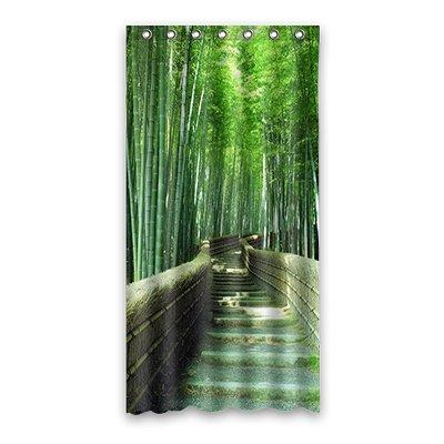 Dalliy Brauch bambus Wasserdicht Polyester Shower curtain Duschvorhang 90cm x 183cm