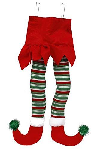 CRAIG BACHMAN 55,9cm Plüsch Weihnachtself Beine Decor 22