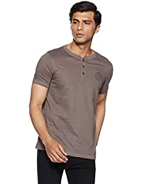 Proline Men's Solid Regular Fit T-Shirt
