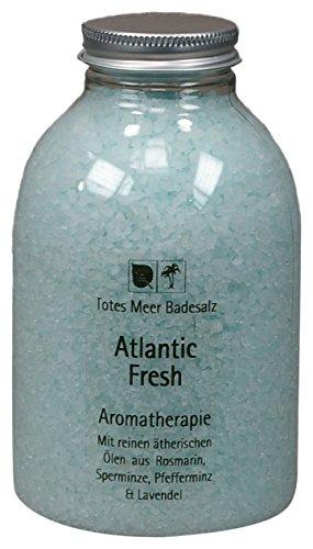 Totes Meer Naturbadesalz ATLANTIC FRESH 630 gr. beduftet mit Pfefferminz, Rosmarin, Lavendel und Minze -