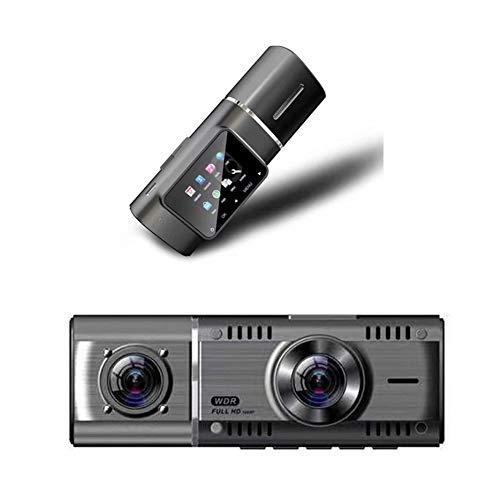 Ur HQCC WiFi-Auto-Kamera, Dual-Schlag-Kamera mit 170 ° Weitwinkel, Wende- Bild, G-Sensor, Loop-Aufnahme, Nachtsicht-Fahrenrecorder
