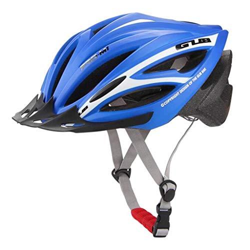 Gwanna, Casco da Moto Ultraleggero con 21 Prese d'Aria per Mountain Bike e Mountain Bike, Casco per Donne e Uomini con Visiera integralmente Modellata, 5