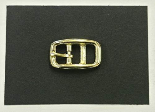 2 Stück Riemen (Caveson-Schnallen, 10mm, Messing-beschichtet, 2 Stückfür Halsbänder, Riemen, Leder etc.)