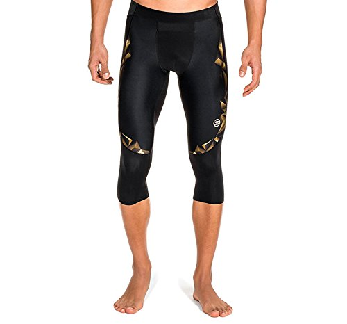 Skins Herren A400 Mens 3/4 Tights, Gold, S, B32156020S (Tight 3/4 Skins)