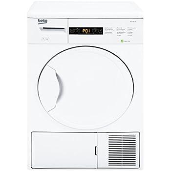 Beko DPU 7404 XE Wärmepumpentrockner/A+/266 kWh/Jahr/7 kg/Weiß/Trommelinnenbeleuchtung/Knitterschutz/Super Express - Programm