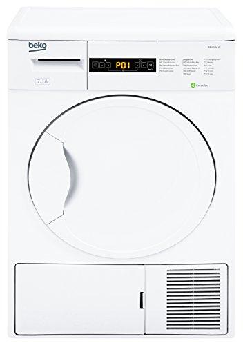 Beko DPU 7404 XE Wärmepumpentrockner / A+ / 266 kWh/Jahr / 7 kg / Weiß / Trommelinnenbeleuchtung / Knitterschutz / Super Express - Programm