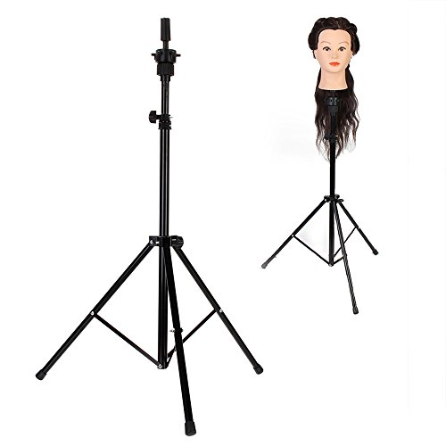 Neverland Sostenedor trípode ajustable para maniquí de cabeza de peluquería