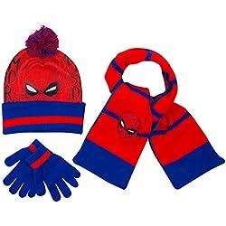 Disney- Cappello Bimbo Inverno Sciarpa Guanti Spiderman Marvel Avengers Paw  Patrol Frozen Cappelli Bimba Invernali 52bf5f1c09e7