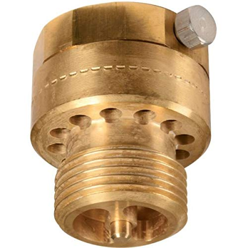Clapet + casse vide HA216 femelle / mâle 20x27 corps en laiton ou laiton chromé Réf 149B2160