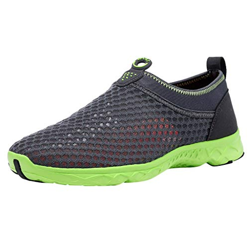 Tubular Deck (CUTUDE Herren Sneakers Ineinander Greifen Wasser Beschuht Turnschuh Freizeitschuh Kursteilnehmer Laufschuhe Schuhe (Grau, 42 EU))