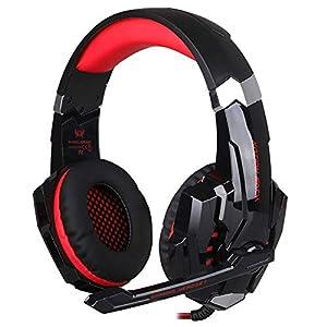 KARTELEI Gaming Kopfhörer Noise Isolation mit Mikrofon für Laptop-Computer, PS4 3,5 mm Wired Gaming Headset