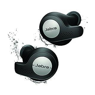 Jabra Elite Active 65t True Wireless Stereo in-Ear Sport-Kopfhörer (Bluetooth, Musik Hören und telefonieren, Sprachsteuerung für Alexa, Siri und Google Assistant) titanium schwarz