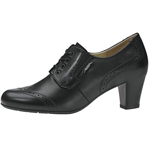 Abeba, Damen Schnürhalbschuhe Schwarz schwarz 42