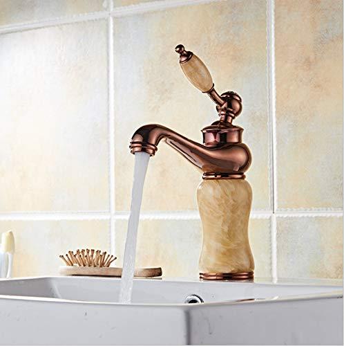 Floungey Badinstallationen Waschtischarmaturen Küchenarmaturen All-Kupfer-Bad Wasserhahn Lift-Typ