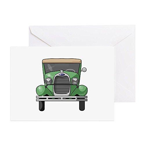 CafePress–1931Ford Model A–Grußkarte, Note Karte, Geburtstagskarte, innen blanko, glänzend