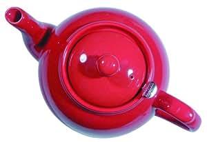 London pottery theiere avec filtre pour 6 tasses rouge for Maison classique emporium