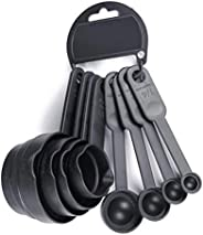 Measuring Cups and Spoons Set - A Must Kitchen Essential (8 Pieces Set)